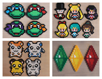 Custom Handmade Pixel Sprites! Video Game Characters and More!
