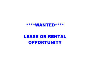 Wanted - for rent or lease recreational powerboat