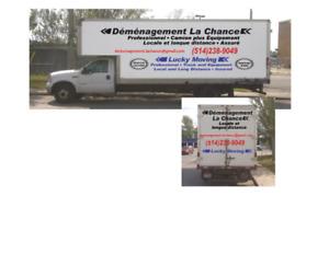 Services de déménagement à PRIX MODIQUES 514-238-9049