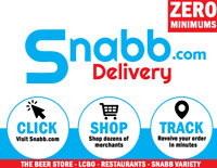 Become a Snabb Delivery Driver TODAY!