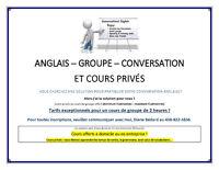 ANGLAIS - Cours d'anglais à domicile ou en entreprises (ADULTES)