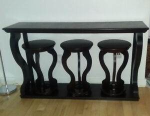 Console Table Espresso