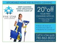 5 STAR SHINE CLEANING SERVICE
