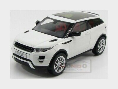 Land Rover Range Evoque 3-Door 2011 White WELLY 1:18 51LRDCAWELEVOGTW Model for sale  Shipping to Ireland