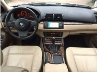 LHD LEFT HAND DRIVE BMW X5 3.0D HIGH EXECUTIVE FULLY LOADED IMMACULATE 1 OWNER SAT NAV PANO COMFORT