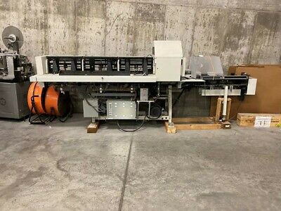 Bell Howell Mastermailer 6 Station Inserter Turnover Conveyor