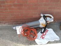 Electric Mulching blower and vacuum