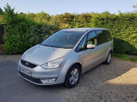 2007 FORD GALAXY Automatic 7 SEATER MPV DIESEL PARKING SENSORS with 2 keys drives suberp