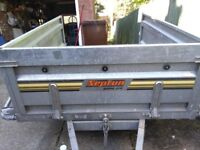 car tipping trailer for sale