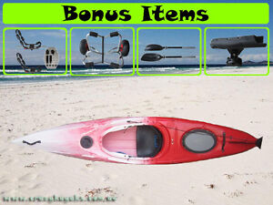 New Model Sea Ocean Sit In Touring Expedition Canoe Kayak Package Shellharbour Area Preview