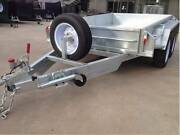 Galvanised 10x5 Heavy Duty Tandem Galvanised Trailer Fully Welded Thomastown Whittlesea Area Preview