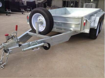 Galvanised 10x5 Heavy Duty Tandem Galvanised trailers Fully Welde Thomastown Whittlesea Area Preview