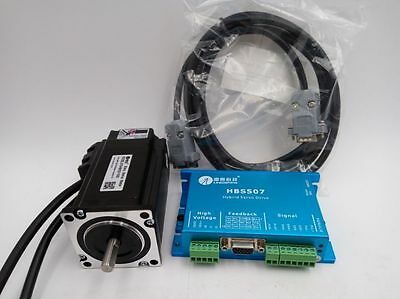 Leadshine Nema23 Hybrid Servo 573hbm20-1000hbs507 Closed Loop Stepper Motor 2nm