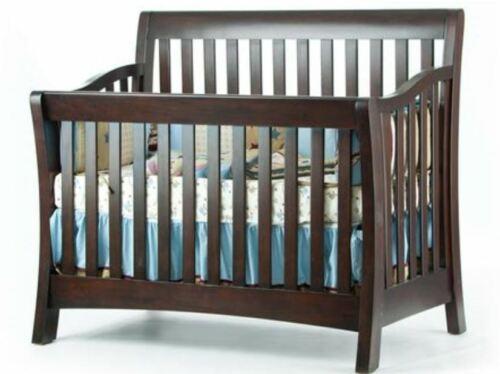 Munire Urban Crib w/Full Conversion Espresso model # 8100-N