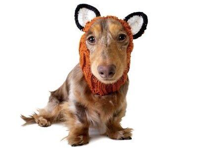 Zoo Snoods Fox Dog Costume - Neck and Ear Warmer Headband for Pets Small (Fox Hunde Kostüm)