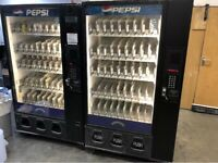 Bevmax 45 Cold Drinks Vending Machine Includes Coin Mech, Warranty Delivery