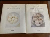 Delia's How to cook - book 1 and 2