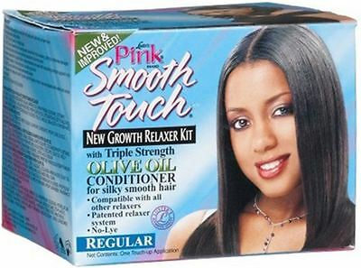 Luster's Pink Smooth Touch New Growth Relaxer Kit, Regular Formula 1 kit