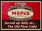 The Old Plym Cafe