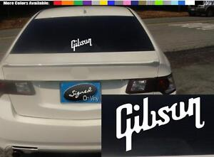 2-1-5-gibson-vinyl-Decal-sticker-any-size-color-surface-car-guitar-phone-S676