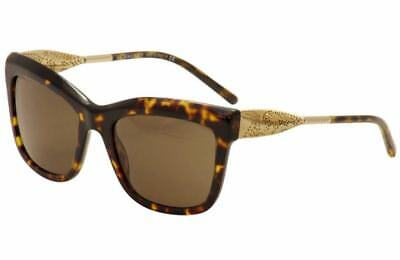 NWT $285 Burberry B/4207 300273 Dark Havana Fashion Sunglasses 56cm gift receipt