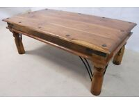 Beautiful wood coffee table (collection only)