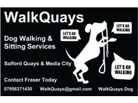 Are you looking for a trusted Dog Walker and Sitter around the Media City & Salford Quays area?