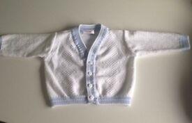 PEX baby boy cardigan 0-3month