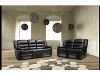 ROMA leather recliner 3+2 sofa set