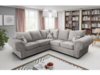 AFFORDABLE CHESTERFIELD CORNER SOFA + 3 AND 2 SEATER SOFA AVAILABLE IN STOCK
