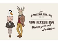 Assistant Manager Required For The Dancing Pub Co Brand