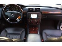 LHD LEFT HAND DRIVE MERCEDES R500 4MATIC 2006 PETROL 6 SEATER SAT NAV PANO IMMACULE FULLY LOADED