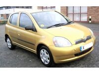 Cheap Yaris 5 Door Low Miles Ideal New Driver 1 YEAR MOT (px corsa micra polo clio Corolla Golf)