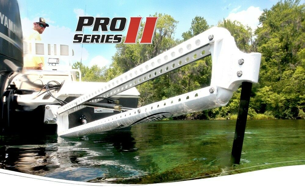NEW 2.0 PRO-II Power Pole-Anchor Black  -8' pro (Free Shipping )