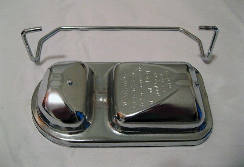 "1971 - 1979 Mopar Dodge Chrysler Plymouth Chrome Master Cylinder Cover 3.5"" x 6"""
