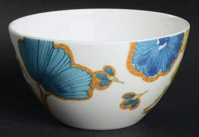 Lenox FLORAL FUSION BLUE All Purpose Cereal Bowl 10062995 Blue All Purpose Bowl
