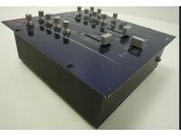 Vestax 2 channel DJ Mixer