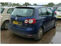 Vw golf plus 1.9TDI available for spare parts