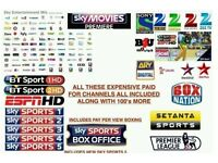 12 Month Subscription For All Zgemma box and Openbox