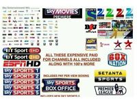 Gift Warranty for all satellite boxes (12 Month Subscription)