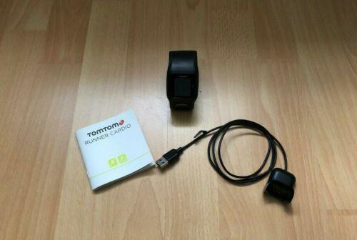 TomTom Runner Cardio GPS Uhr schwarz