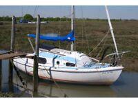 Macwester rowan 22 sailing boat