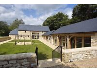 Beautiful converted barn office to let - 41 sq metres (446 sq ft) near Woodstock. Furnished if req.