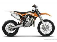 KTM 65/85 CR,YZ Junior motocross, Beta trials