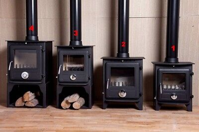 Coseyfire Elegance Multi-Fuel Wood-Burning Stove Stoves 5kw and  8kw Stand