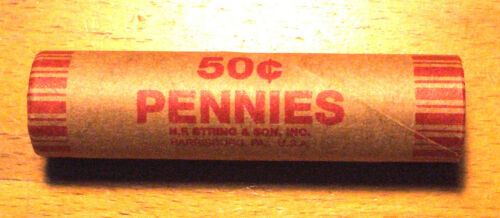 1982-D Uncirculated LINCOLN CENT ROLL - Large Date