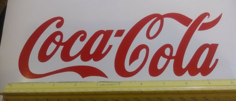 """*Best Prices* Coca-Cola decal sticker 10"""" coke red or white *Buy 2, Get 3rd FREE"""