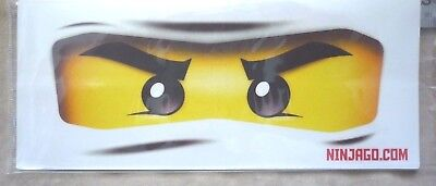 1x Real Lego Ninjago Eyes Stickers Party Decorations Balloons loot Bags Plates