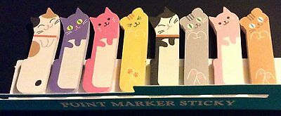 Cute Animal Sticker Office Post-It Bookmark Point Marker Memo Flags Sticky Notes