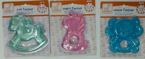 Baby Teether Ring Teething Refrigerate to cool ROCKING HORSE Teddy Bear Unicorn